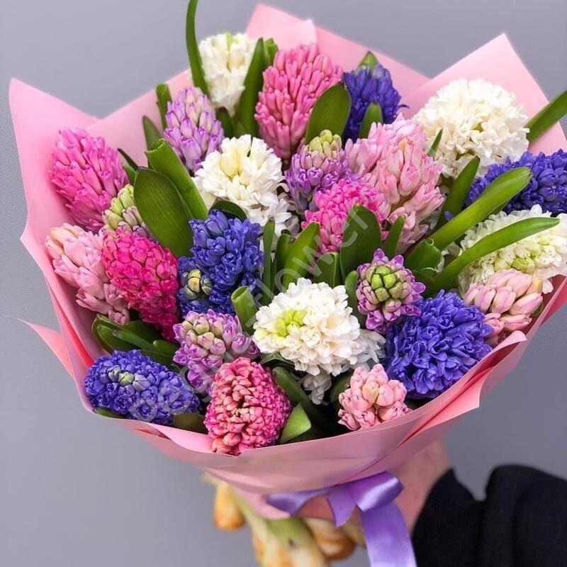 Гиацинты доставка цветов, орхидей